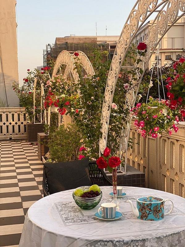Biệt thự sang trọng như một khu vườn hoa cổ tích của hoa hậu Giáng My - Ảnh 4.