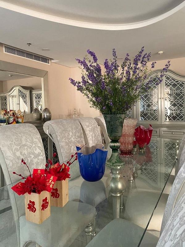 Biệt thự sang trọng như một khu vườn hoa cổ tích của hoa hậu Giáng My - Ảnh 6.