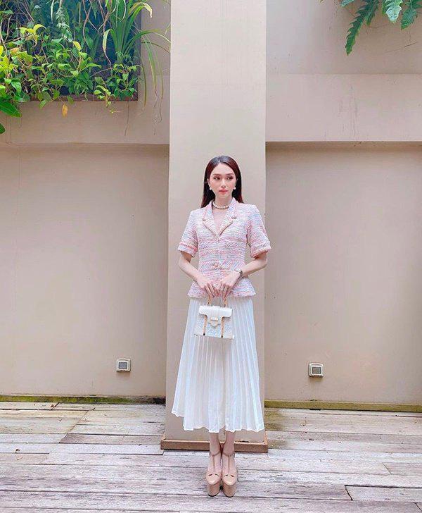 Chớm thu sao Việt diện vải tweed: Mỹ nhân đẹp chất lừ, nam nhân điệu chảy nước - Ảnh 1.