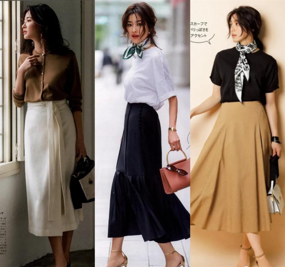 4 công thức diện đồ Thu hack dáng thon gọn, cao ráo mà nàng công sở Việt tuổi 30+ có thể học lỏm từ style của phụ nữ Nhật - Ảnh 4.