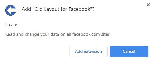 Cách khôi phục Facebook trên máy tính trở về giao diện cũ như trước đây - Ảnh 3.