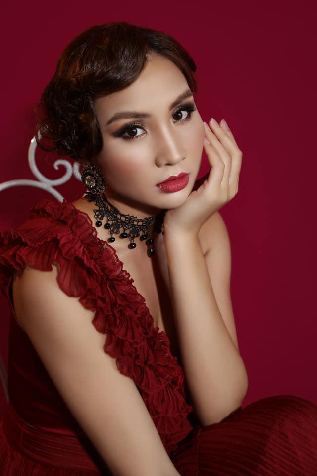 Nhan sắc cô gái dân tộc Nùng thi Hoa hậu Việt Nam 2020 - Ảnh 11.