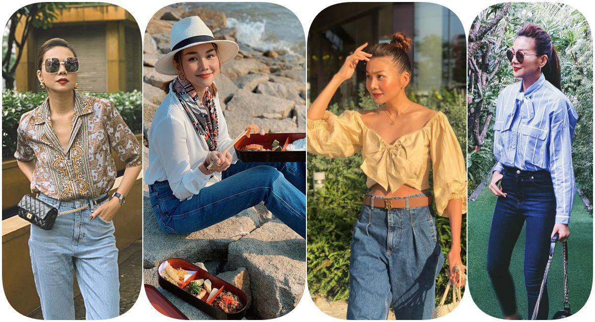 Học Thanh Hằng cách diện đồ công sở theo phong cách bánh bèo - Ảnh 5.