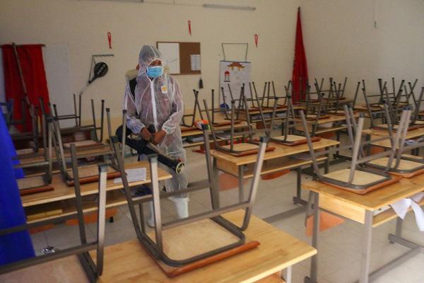 Hà Nội yêu cầu các trường học đảm bảo an toàn khi đón học sinh trở lại trường học - Ảnh 1.