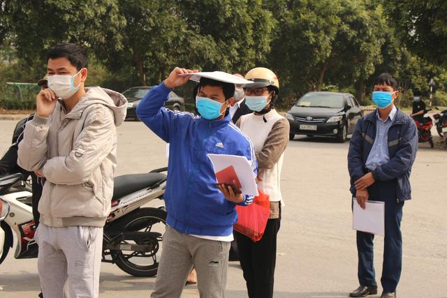 Hải Dương: Siết chặt việc cấp giấy ra vào cho công nhân làm việc tại ổ dịch Cẩm Giàng - Ảnh 3.