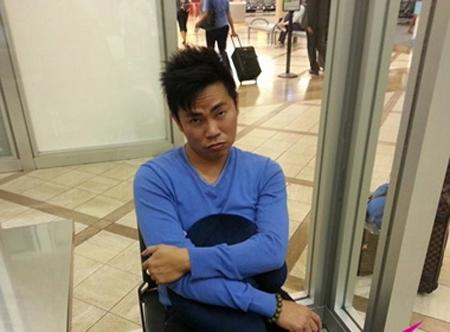 Nghệ sĩ hài Hoài Tâm bị tạm giữ vì nghi ngờ mang lựu đạn ? 1