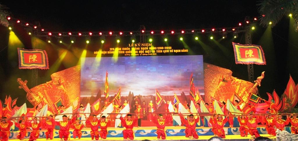 Khu Di tích lịch sử Bạch Đằng đón Bằng xếp hạng Di tích quốc gia đặc biệt 9