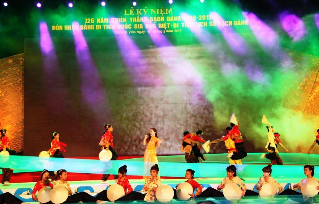 Khu Di tích lịch sử Bạch Đằng đón Bằng xếp hạng Di tích quốc gia đặc biệt 13