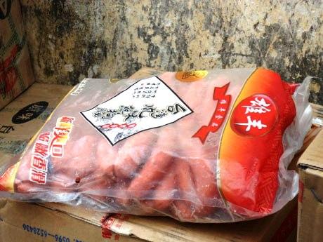Quảng Ninh: Bắt giữ gần 1,2 tấn xúc xích và khoai môn nhập lậu 1