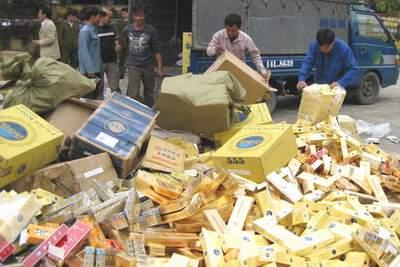 Quảng Ninh: Bắt giữ 16.000 bao thuốc lá ngoại nhập lậu 1