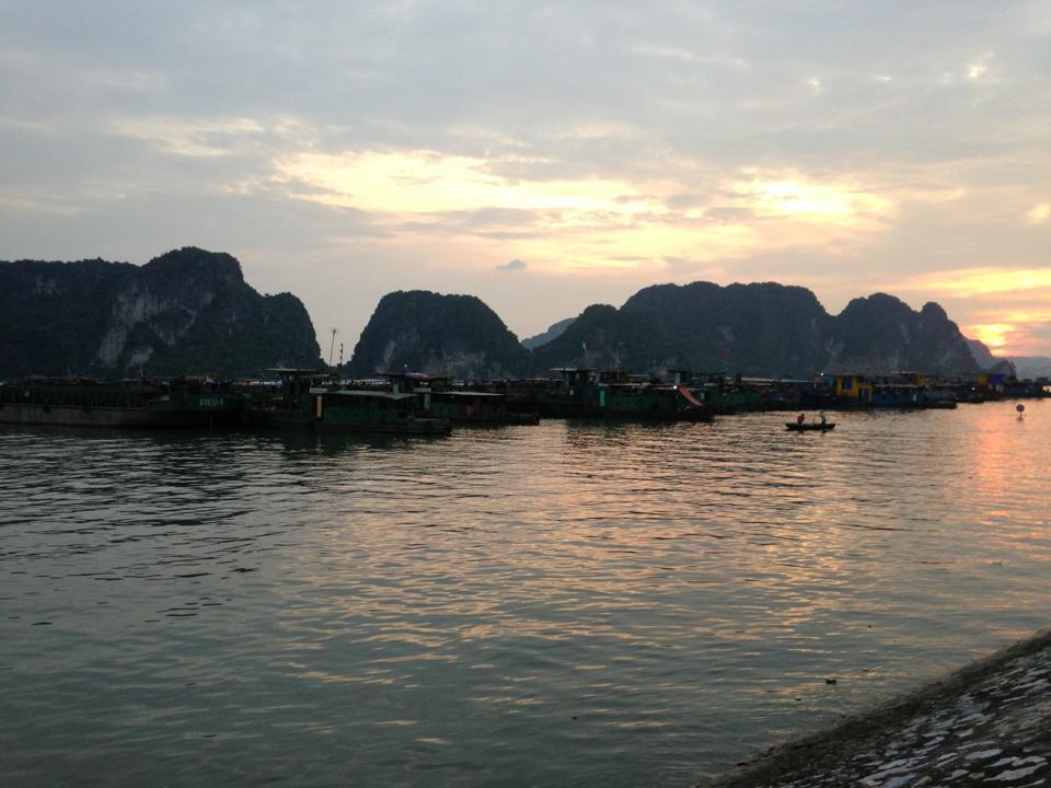 Quảng Ninh: Bắn pháo hiệu cho tàu thuyền về tránh bão số 6 1