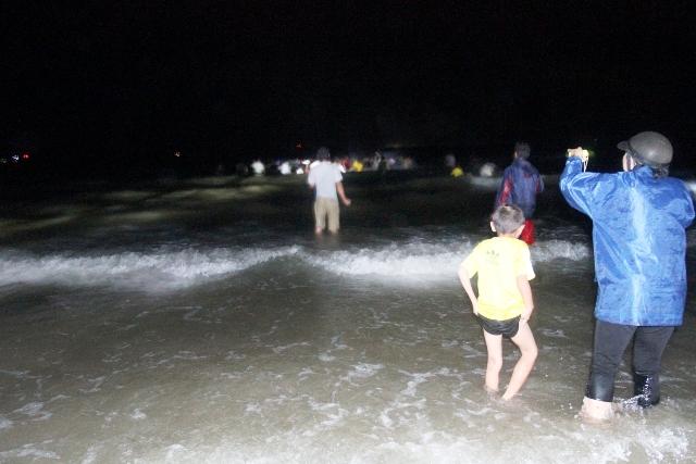 Thức trắng đêm giải cứu cá voi mắc cạn tại đảo Cô Tô 15
