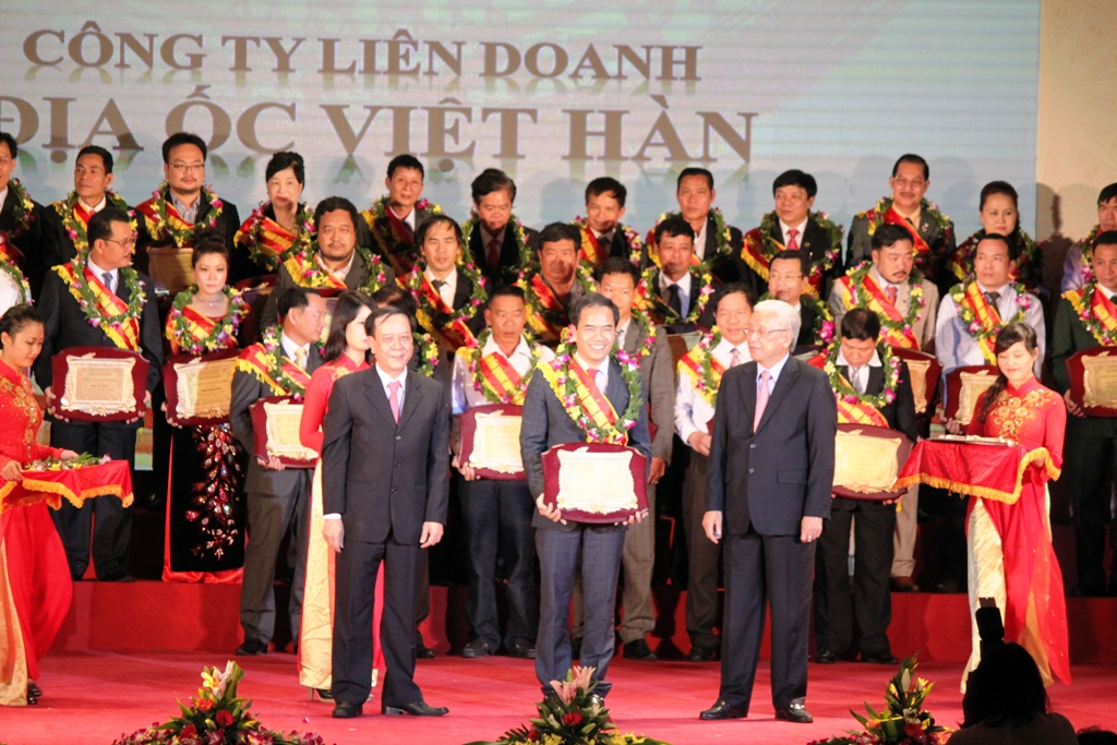 Quảng Ninh: 100 doanh nhân tiêu biểu được vinh danh 1