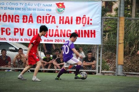 """Bằng Kiều """"tung hoành"""" trên sân cỏ ở Quảng Ninh 8"""