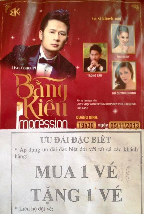 Live concert Bằng Kiều tại Quảng Ninh ế khách 20