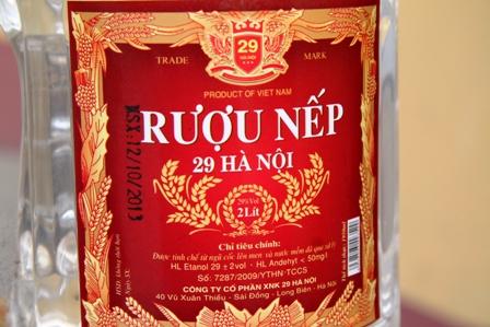 Quảng Ninh: Thu giữ hơn 4.000 can rượu nếp 29 Hà Nội 2