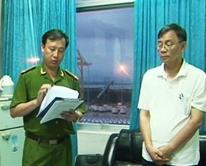 Khởi tố bắt tạm giam nguyên Phó tổng giám đốc Cảng Quảng Ninh  1