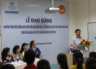 Hà Nội: Đào tạo giáo viên chuẩn tiếng Anh 1
