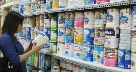 Sữa cho trẻ dưới 06 tuổi sẽ được bình ổn giá 1