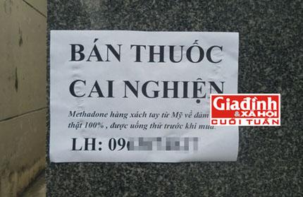 """Bóc trần sự thật về thuốc cai nghiện rởm giá """"trên trời"""" bán tại Sài Gòn 2"""