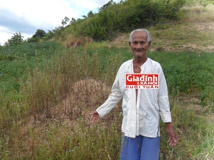 Lạ kỳ cụ ông 108 tuổi sống ẩn dật giữa hàng chục nấm mồ 1