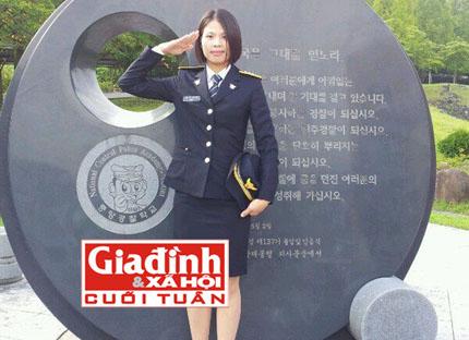 Những điều chưa biết về cảnh sát nữ Việt Nam đầu tiên tại Hàn Quốc 1