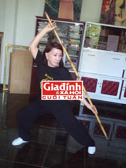 """""""Người phụ nữ vàng"""" của võ thuật cổ truyền Việt Nam 2"""