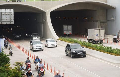 Hơn 1.000 trường hợp vi phạm lưu thông hầm Sông Sài Gòn trong 2 tháng 1