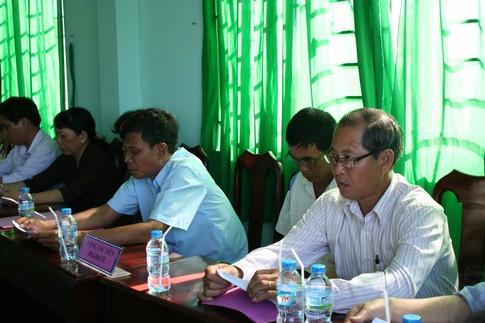 Giám sát công tác truyền thông - giáo dục ở địa phương 3