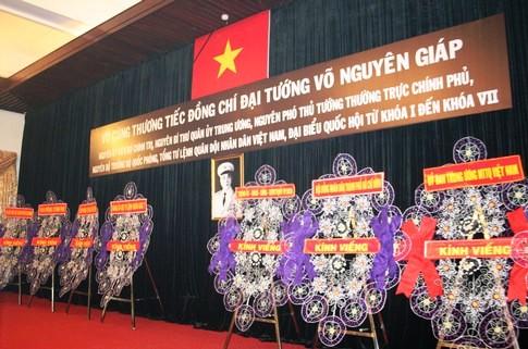 TPHCM: Dòng người đến viếng Đại tướng dài như vô tận 1