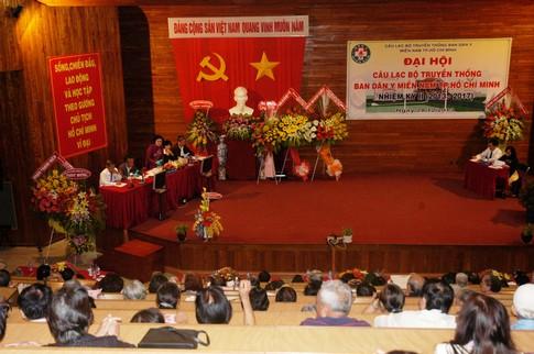 Đại hội tổng kết nhiệm kỳ I CLB truyền thống Ban Dân y miền Nam 1