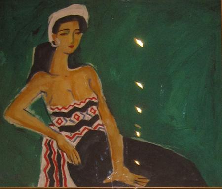 Bộ sưu tập tranh đặc sắc của Tiến sĩ Nguyễn Sĩ Dũng 5