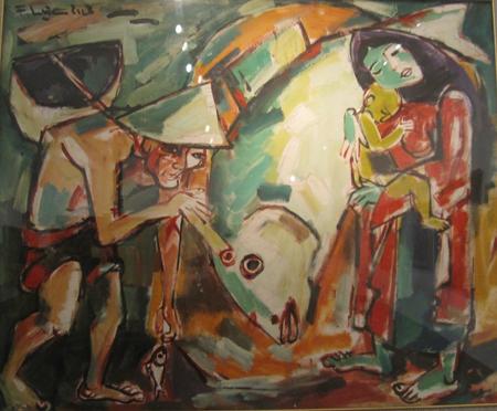 Bộ sưu tập tranh đặc sắc của Tiến sĩ Nguyễn Sĩ Dũng 8