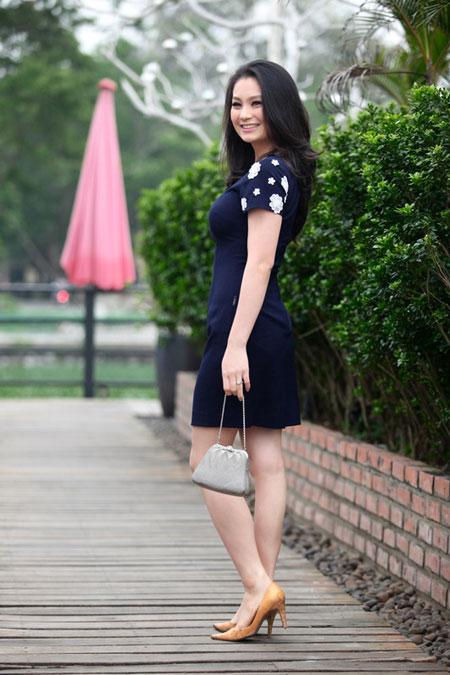 Diễn viên Diệu Hương tăng 25kg vì sinh em bé 1