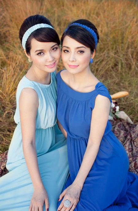 Vẻ xinh đẹp, quý phái của chị gái Mai Thu Huyền  6