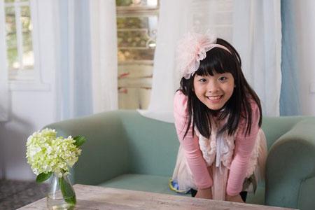 Con gái diễn viên Chiều Xuân: Sức hút đặc biệt của một cô bé đáng yêu 1