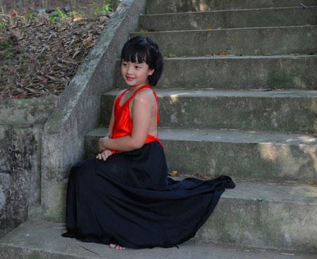 Con gái diễn viên Chiều Xuân: Sức hút đặc biệt của một cô bé đáng yêu 4