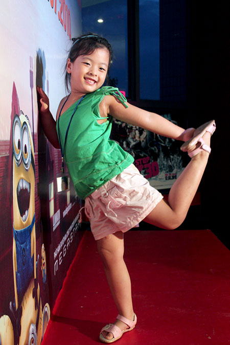 Con gái diễn viên Chiều Xuân: Sức hút đặc biệt của một cô bé đáng yêu 5
