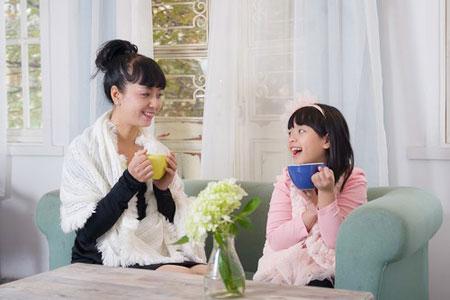 Con gái diễn viên Chiều Xuân: Sức hút đặc biệt của một cô bé đáng yêu 3