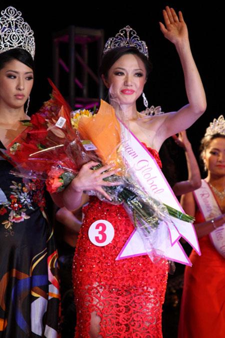 Cận cảnh nhan sắc người Nhật gốc Việt đăng quang hoa hậu Việt Nam toàn cầu 2