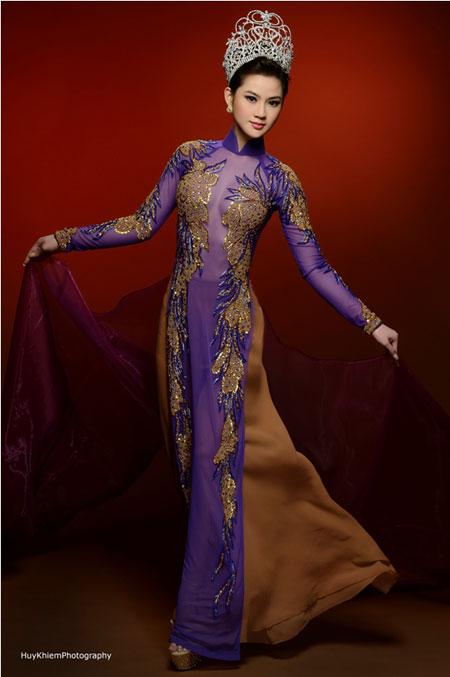 Cận cảnh nhan sắc người Nhật gốc Việt đăng quang hoa hậu Việt Nam toàn cầu 4