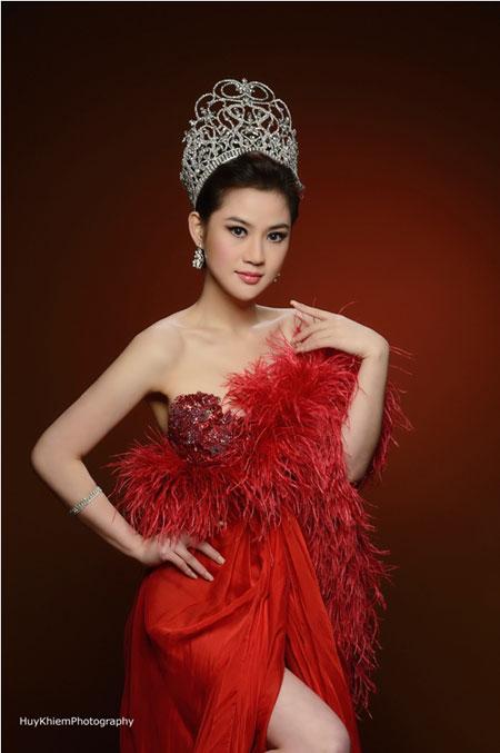 Cận cảnh nhan sắc người Nhật gốc Việt đăng quang hoa hậu Việt Nam toàn cầu 5