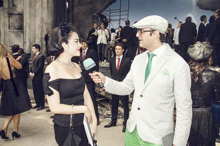 Lý Nhã Kỳ lấn át diễn viên Châu Tấn ở show thời trang Chanel 3