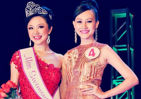 Cận cảnh nhan sắc người Nhật gốc Việt đăng quang hoa hậu Việt Nam toàn cầu 6