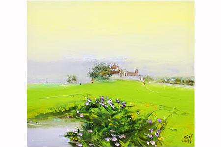 Thương nhớ đồng quê trong tranh Nguyễn Văn Cường 5