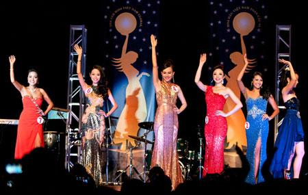 Cận cảnh nhan sắc người Nhật gốc Việt đăng quang hoa hậu Việt Nam toàn cầu 8