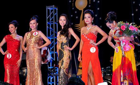 Cận cảnh nhan sắc người Nhật gốc Việt đăng quang hoa hậu Việt Nam toàn cầu 9