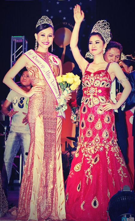 Cận cảnh nhan sắc người Nhật gốc Việt đăng quang hoa hậu Việt Nam toàn cầu 10