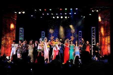 Cận cảnh nhan sắc người Nhật gốc Việt đăng quang hoa hậu Việt Nam toàn cầu 1