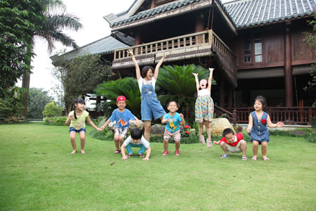 Ca sĩ Khánh Ly khoe trang trại đẹp như Resort 10